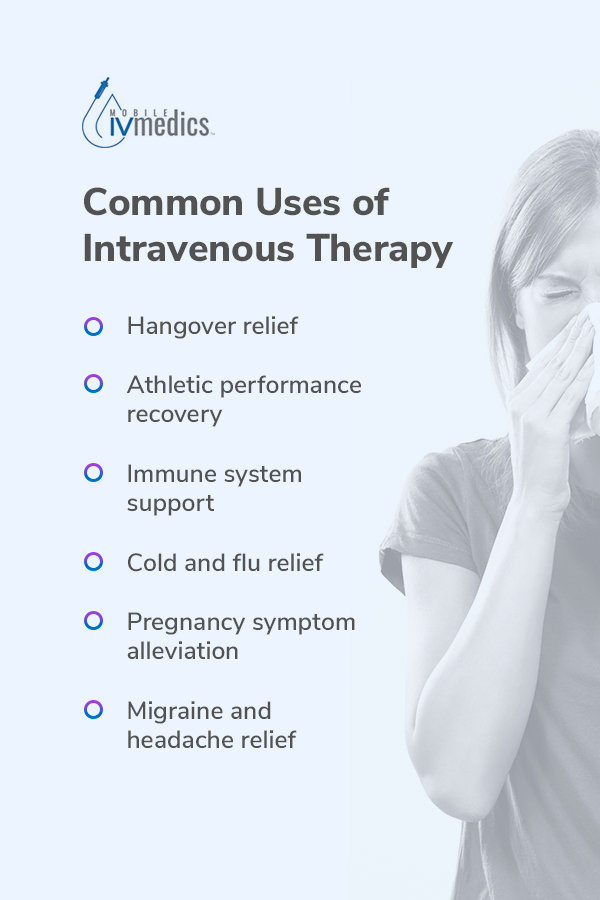 common uses of iv therapy